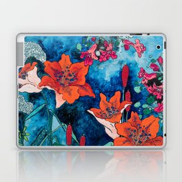 Blooming Night Garden: Twilight Laptop & iPad Skin