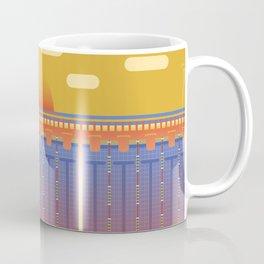 Pool Sunset Coffee Mug