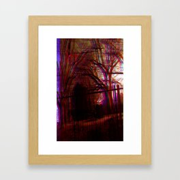 gravewave Framed Art Print