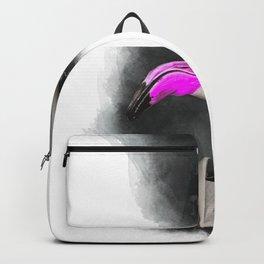 FLAMINGO WATERCOLOR - Cool Animal Art Backpack