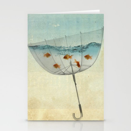 keeping the balance Stationery Cards