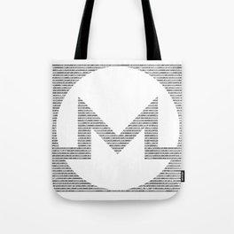 Binary Monero Tote Bag