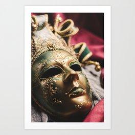 A Masquerade Art Print