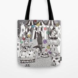 Night Carnival Tote Bag