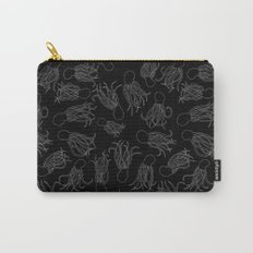 Squids (Grey on Black) Carry-All Pouch