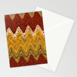 Africa pattern marble Stationery Cards