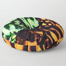 Neon animal skin Floor Pillow