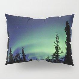 Aurora Borealis Landscape Pillow Sham