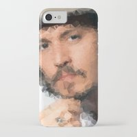 johnny depp iPhone & iPod Cases featuring Johnny Depp by lauramaahs
