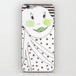 Mr. Green iPhone Skin