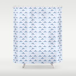 Flying saucer 6 Shower Curtain