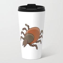 dangerous parasite - tick Travel Mug