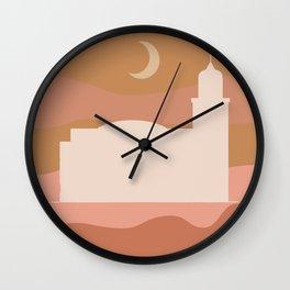 Cleveland West Side Market Print Wall Clock