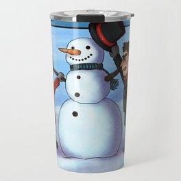 Sterek Winter Travel Mug