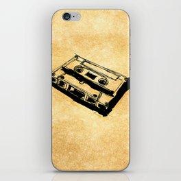 Retro Cassette Tape iPhone Skin