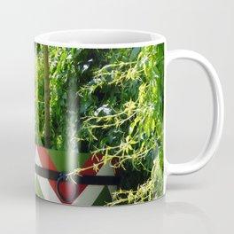 chevron flower pattern Coffee Mug