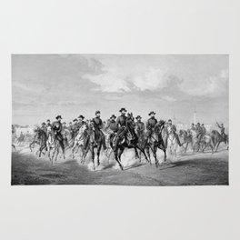 General Sherman At Savannah Georgia Rug