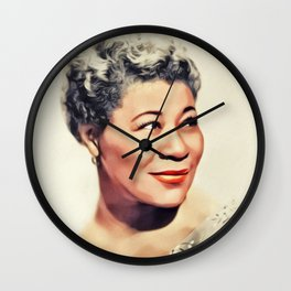 Ella Fitzgerald, Music Legend Wall Clock