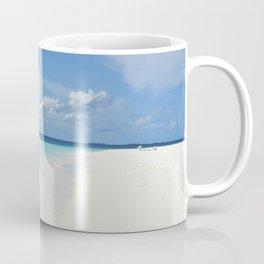 The Maldives' Blue Coffee Mug