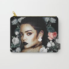 Floral Rihanna Carry-All Pouch