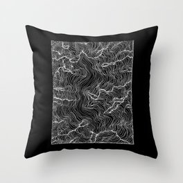 Inverted Incline Throw Pillow