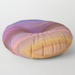 Astratto multicolore Floor Pillow