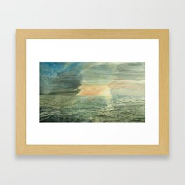 Thirteen Rows At Dawn  Framed Art Print