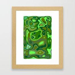 Mental Landsacpe: Searching Framed Art Print