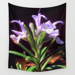 Flowering Rosemary Wall Tapestry