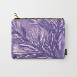 Ultra Violet Spruce Tree Pattern  Trendy color of year 2018 Carry-All Pouch