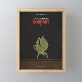 Little Shop of Horrors Alternative Minimalist Poster Framed Mini Art Print