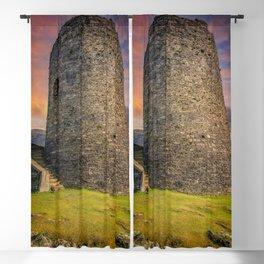 Dolbadarn Castle Snowdonia Wales Blackout Curtain