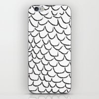 angel wings iPhone & iPod Skins featuring angel wings by her art