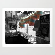 Coney Island Candy Store Cotton Candy Art Print