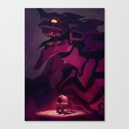 Evangelion - Shinji Canvas Print