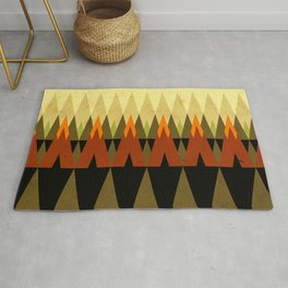 living in the woods Rug