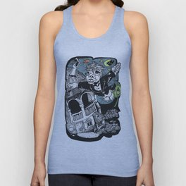 One of those flying dreams Unisex Tank Top