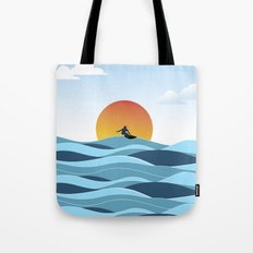 Surfing 1 Tote Bag
