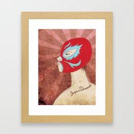 El Club de la Lucha (Primera Parte) Framed Art Print