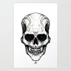 Skully #1 Art Print