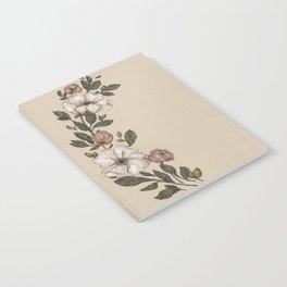 Floral Laurel Notebook