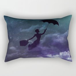 Mary Poppins in the sky with diamonds Rectangular Pillow