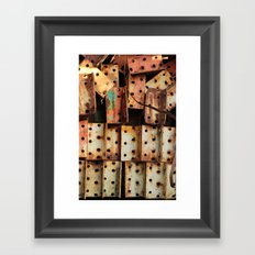Urban Metal Framed Art Print