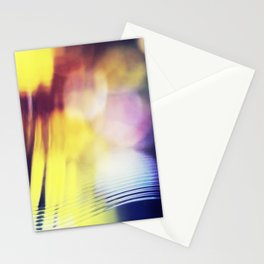 City lights - Abstract Photography Stationery Cards