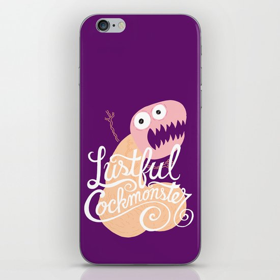 Lustful Cockmonster iPhone & iPod Skin