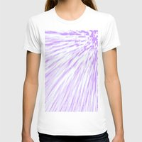 lavender T-shirts featuring Lavender. by SimplyChic