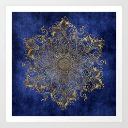 Blue velvet Kunstdrucke