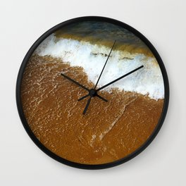 Summer Walk Wall Clock