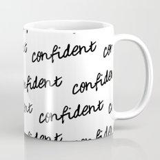 GOOD VIBES - CONFIDENT white Mug