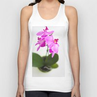 orchid Tank Tops featuring Orchid by Darko Rikalo